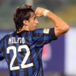Inter, Milito: almeno un mese per il rientro