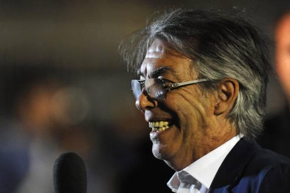 Moratti146 Calciomercato Inter, Moratti: Stramaccioni conferma giusta. Lavezzi? Si può fare