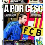 Mundo Deportivo, A por Cesc