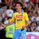 Serie A, Cesena-Napoli 1-3: i voti per 'Tuttosport', Inler totem, Mutu egoista