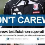 Calciomercato Inter, l'ironia di Tuttosport: I don't Carew