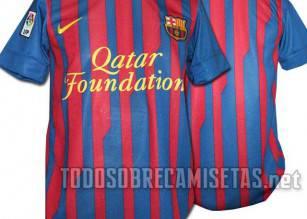 Nuova maglia Barcellona 2011-2012 02