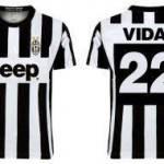 Nuova maglia Juventus 2012-2013: Vidal la pubblica sul proprio profilo Facebook, sarà quella vera? – Foto