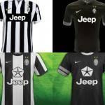 Nuova maglia Juventus 2012-2013: ecco come potrebbe essere con lo sponsor Jeep Chrysler – Foto