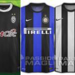 Nuova maglia Juventus Inter 2012-2013: ecco le prime ricostruzioni grafiche – Foto