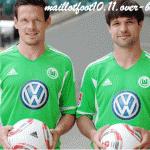 Nuova maglia del Wolfsburg 2012, l'ex Juventus Diego la presenta – Foto