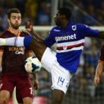 """Calciomercato Roma, agente Obiang: """"Pensa solo alla Samp, non c'è niente coi giallorossi"""""""