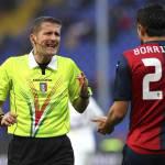 Napoli-Juventus, la moviola: Cavani da rosso, dubbi sul contatto Inler-Lichtsteiner
