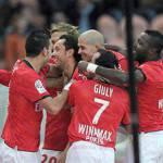 Ligue 1: pareggio fra Arles e Lione, l'Auxerre batte il Psg
