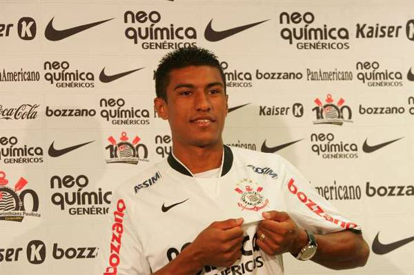 Paulinho10 Calciomercato Inter Roma, Paulinho: voglio restare al Corinthians
