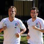 """Italia, Pazzini emozionato: """"Giocare con Cassano in Nazionale è il massimo"""""""