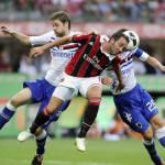 Milan, Portanova minacciato di morte dopo il fallo su Pazzini