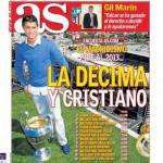As: La decima e Cristiano Ronaldo