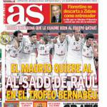 As: Perez non scarta l'ipotesi Zidane come allenatore