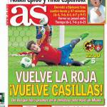 As: Ritorna la Roja, ritorna Casillas
