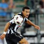 Juventus, danneggiata la barca di Quagliarella