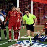 Moviola Atletico Madrid-Fulham: ottimo l'arbitraggio di Rizzoli