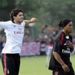 Tegola Milan, Ronaldinho infortunato: si teme un mese di stop!