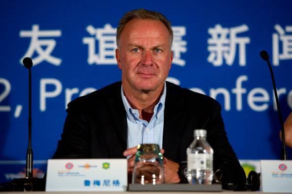 Bayern Munich chairman Karl-Heinz Rummen