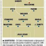 Fantacalcio Sampdoria-Inter, probabili formazioni in foto