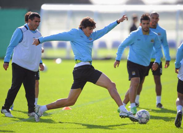Manchester City - Training & Press Conference