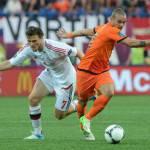 Inter, infortunio Sneijder: olandese fuori pericolo in campo già contro l'Ungheria