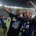 Calciomercato Inter, Sneijder all'Arsenal porta Zarate e Tevez?
