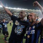 Calciomercato Inter, Sneijder chiude a Eto'o e chiama Messi e il fratello Rodney…