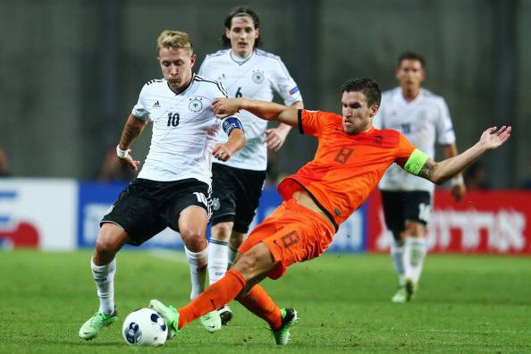 Netherlands v Germany - UEFA European U21 Championships: Group B