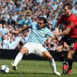 Premier League, sfiorata la rissa tra Mancini e Tevez