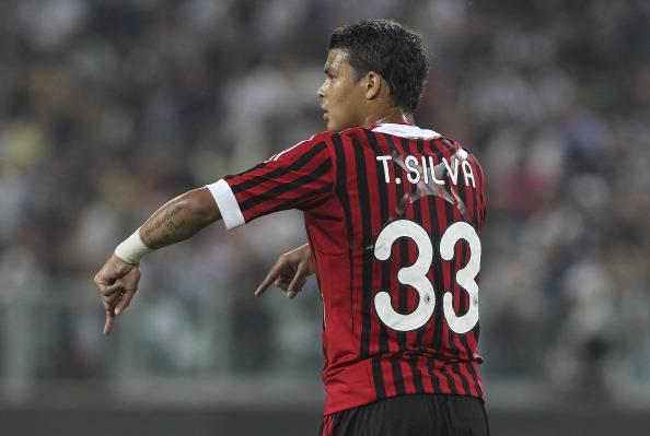 Thiago Silva44 Calciomercato Milan, Thiago Silva: asta tra Barcellona e Real Madrid in estate?