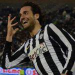 Juventus-Notts County, Toni segna il primo gol nel nuovo stadio