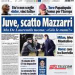 Tuttosport: Juve, scatto Mazzarri