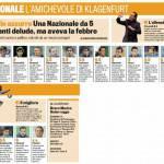 Romania-Italia, i voti della Gazzetta – Pagelle in foto