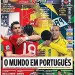 A Bola: il mondo in portoghese