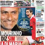 A Bola: Mourinho dice si a Di Maria