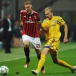 Milan, Abate premiato da Galliani per la 100esima presenza in Serie A