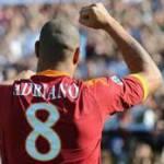 """Roma, dopo Totti si ferma anche Adriano, """"problema muscolare"""""""