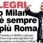 Calciomercato Roma, nonostante le smentite per Allegri è sempre più Roma