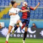 """Genoa-Milan, Antonini: """"Vogliamo chiudere bene contro la Juve"""""""