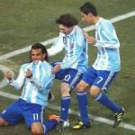 Mondiali Sudafrica 2010: Argentina-Messico 3-1, Rosetti spinge i sudamericani ai quarti di finale – Video