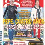 As: Rinnovi Real Madrid: Pepe quattro anni e Sergio Ramos sei