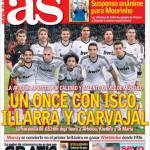 As: Un undici con Isco, Illarra e Carvajal