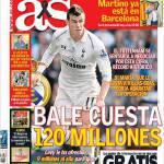 As: Bale costa 120 milioni di euro