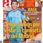 """As: """"Mi illudo di poter vestire ancora la maglia del Real Madrid!"""""""