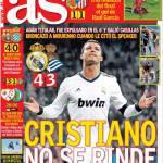 As: Ronaldo non si arrende