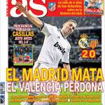 As: Il Madrid punisce, il Valencia perdona