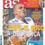 AS: Pepe, la bestia nera del Barcellona