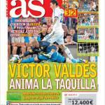 As: Victor Valdes riapre i giochi
