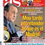 """As: """"Mou ha compreso subito cosa è il Real Madrid"""""""